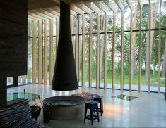 Skogssauna, Tomtebo by Meter Arkitektur