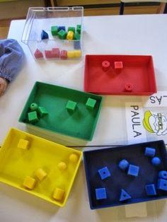 Enseñando a aprender. Aprendiendo a enseñar: Los colores en 3 años