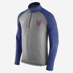 REPRESENT YOUR TEAM The Nike Dri-FIT Touch Fleece Half-Zip (MLB Mets) Men's Training Top features soft, sweat-wicking fabric that helps keep you warm and comfortable on the field or off. A proud team logo stands out for a loyal look. Benefits Thermal Dri-FIT fabric helps keep you dry, warm and comfortable Mock neck zips up to your chin for coverage and protection against the elements Raglan seams offer excellent range of motion Product Details Fabric: Dri-FIT 51% rayon/43% polyester/6%…