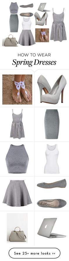 """Gray"" by dzenitab on Polyvore"
