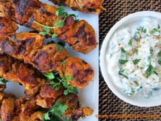 Tandoori Chicken Kabobs by the foodiephysician: Cook once, eat twice. #Chicken_Kebabs #Indian #Tandoori #thefoodiephysician