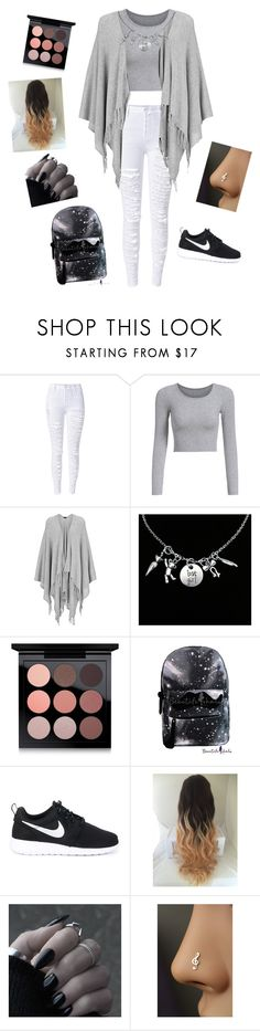 """school"" by erin4life ❤ liked on Polyvore featuring Joseph, MAC Cosmetics and NIKE"