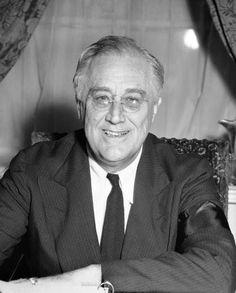 President Franklin Delano Roosevelt, 1933-1945