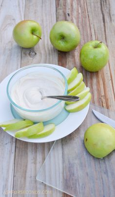 The Best Healthy Fruit Dip Ever - Clean Eating and Low Carb -  www.askforseconds.com-7