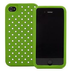 kate spade iphone 6 case green with white polka dots | Another Kate Spade iPhone case --- love the green with white polka ...