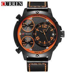 66e5ec92023  EBay  Curren Men Watches Luxury Casual Men Watches Men Analog Military  Sports Watch Quartz