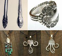 DIY Fork Jewelry
