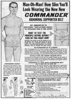 How Slim You'll Look Wearing The NEW NEW Commander Abdominal Supporter Belt
