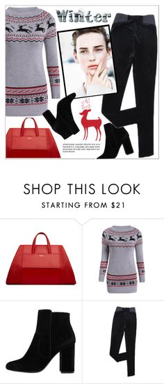 """""""winter"""" by hajnicska56 ❤ liked on Polyvore featuring MANGO and wintersweater"""