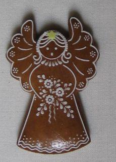 ru.pinterest.com Gingerbread Decorations, Christmas Cake Decorations, Christmas Gingerbread, Christmas Desserts, Christmas Baking, Gingerbread Cookies, Angel Cookies, Iced Cookies, Cute Cookies