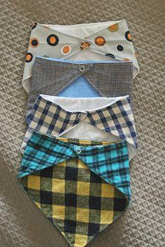 trendy sewing crafts for babies bandana bib Sewing For Kids, Baby Sewing, Sewing Crafts, Sewing Projects, Baby Crafts, Baby Bibs, Baby Love, Sewing Patterns, Crafty