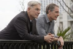 Gibbs (Mark Harmon, left) and NCIS Special Agent Dwayne Cassius Pride (Scott Bakula, right) chase leads in New Orleans after evidence points to a copycat of the infamous Privileged Killer