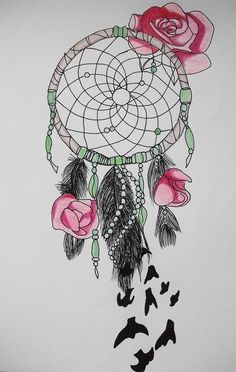 deviantART: More Like Dream Catcher Birds of a Feather Tattoo by ~Metacharis