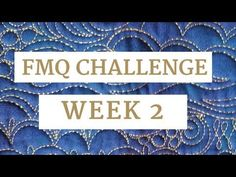 The Free-motion Challenge Quilting Along has begun!  This week's video will help you master the basic meander and will show how to add emphasis with echoing.    In this free video, you'll learn:   How to quilt a basic meander machine quilting design.  Troubleshoot your quilting to get the best result. How to echo blocks to highlight them. Easy variations for echoing block.