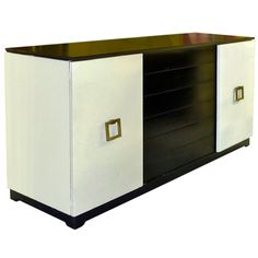 1stdibs - Grosfeld House Leather Wrapped Sideboard explore items from 1,700  global dealers at 1stdibs.com