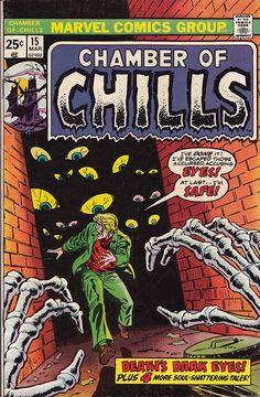 Chamber of Chills issue 15 by REDROCKETHOMEBASE on Etsy, $10.00
