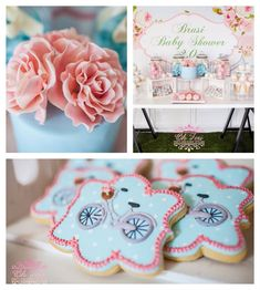 Baby Shower Registry, Baby Shower Brunch, Baby Shower Fall, Baby Shower Themes, Baby Shower Decorations, Baby Showers, Shower Ideas, Bicycle Birthday Parties, Bicycle Party