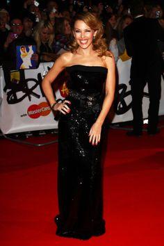 Kylie 2009 Brit Awards Red Carpet