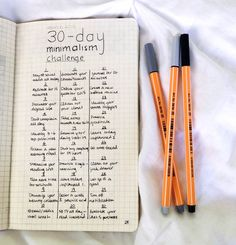 "wannabemoved: ""whitmantra: ""Happy first day of March, everybody! I'm trying out this minimalism challenge that I've seen floating around tumblr, but I've made a couple of changes to the original to..."