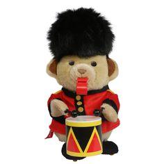 Hamleys Drumming Bear: Amazon.co.uk: Toys & Games
