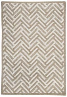 Geometric rug.