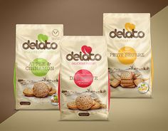 "Check out new work on my @Behance portfolio: """"delato"" Cookie & Biscuit 