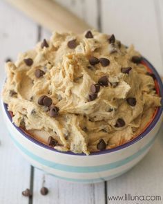Egg-less Cookie Dough recipe!  I love to eat raw cookie dough but eggs are a hazard.  if this is as good as it look, what a find!!