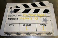 Movie night cake by BennysBakeryCakes, via Flickr