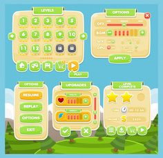 Illustration about Collection of fantasy cute casual cartoon buttons, windows, and other user interface elements for creating puzzle games. Game Ui Design, Design Design, Pink And White Background, Kids Web, Brochure Design Inspiration, Ui Inspiration, Button Game, Vintage Typography, Vintage Logos