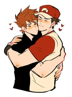revolocities:  red likes to hug him a lot