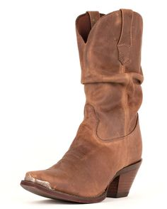 """Women's 10"""" Crush Sultry Slouch Boots - Distressed Sunset Brown  I could live with these if I ever get cowboy boots"""