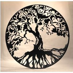Tree of Life - If you can find an artist who does great lines and can really see how to utilize the negative space then this would be an awesome tattoo