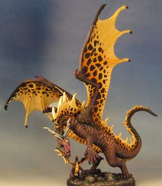 77328 Cinder and Dragon Pup Dragon Miniatures, Fantasy Miniatures, Fantasy Beasts, Fantasy Art, Fantasy Creatures, Mythical Creatures, Tabletop, Dungeons And Dragons Miniatures, Dragon's Lair