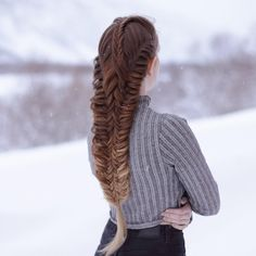 "6,417 Likes, 35 Comments - Mia & Linda (@aurorabraids) on Instagram: ""Mix of fishtails Inspired by @silvousplaits_hairstyling"""
