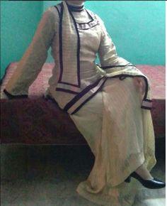 Trendy Plazo Design I Dress, Designer Dresses, Victorian, Collection, Fashion, Moda, Designer Gowns, Fashion Styles, Fashion Illustrations