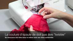 Comment coudre une tunique (patron Jalie 3136)