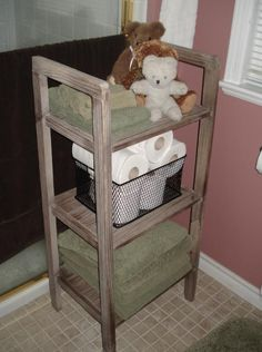 New bathroom towel stand
