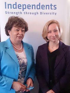 Independents' Network - Catherine Murphy TD and Agnieszka Wieczorkowska