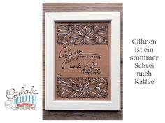 Tunella's Geschenkeallerlei präsentiert: Faser- und Gelstift auf Papier - Doodelei - Gähnen ist ein stummer Schrei nach Kaffee #TunellasGeschenkeallerlei #Doodelei #Faserstift #Gelstift #handgemacht #Geschenk #Weisheit #Sprüche Doodle, Etsy Seller, Create, Unique Jewelry, Handmade Gifts, Cover, Vintage, Decor, Paper