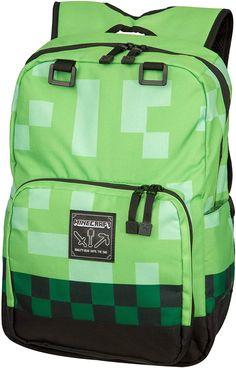 New JINX Minecraft Creeper Kids School Backpack, Green, 18 online - Ideasyoulove Toddler Bag, Toddler Backpack, Big Backpacks For School, Kids Backpacks, Preschool Backpack, Shapes For Kids, Cute Toddlers, Computer Bags, Unisex