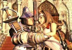Steiner and Beatrix  Final Fantasy 9