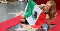 Thalía recibe su estrella en el Paseo de la Fama en Hollywood