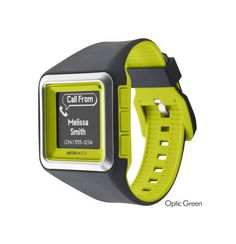 NEW MetaWatch STRATA (Optic Green) Smartwatch for iPhone iOS Apple and Android