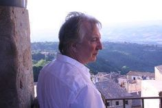July 2010 - Alan Rickman and Rima Horton vacationing in Italy.  Copyright ©  Simone Migliorini