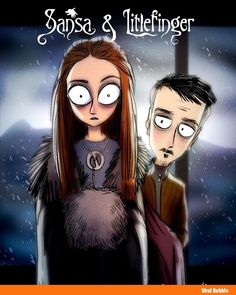 Sansa Stark & Littlefinger