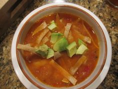 Tortilla Soup (with or without chicken) | eat. cook. blog.