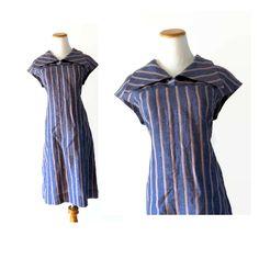 60s Shift Dress / Large 60s Dress / Mod Shift Dress / Mod Dress / 60s Dress / 1960s Shift Dress / 60s Mod Dress / Striped Mod Dress by GoodLuxeVintage on Etsy