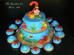 Karis' Dora Mermaid Cake  on Cake Central