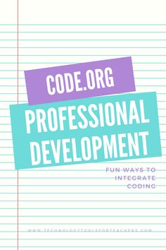 This past weekend I went to a one day code.org professional development at a local elementary school. Code.org provides workshops around the world taught by computer science facilitators free of ch…