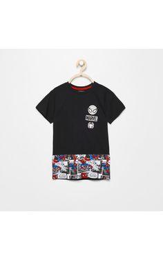 Футболка SPIDERMAN, РУБАШКИ, БЛУЗЫ, ФУТБОЛКИ, черный, RESERVED